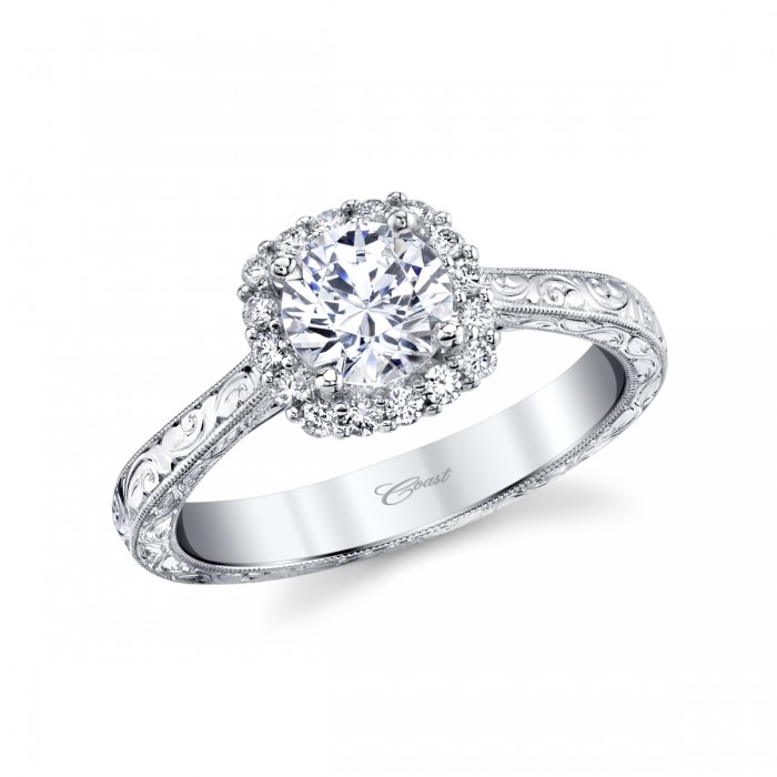 Engagement Ring Settings by Coast Diamond