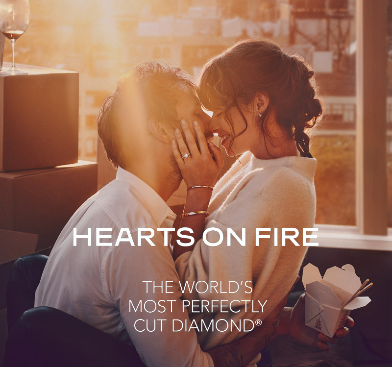 Hearts on Fire fashion jewelry and engagement rings