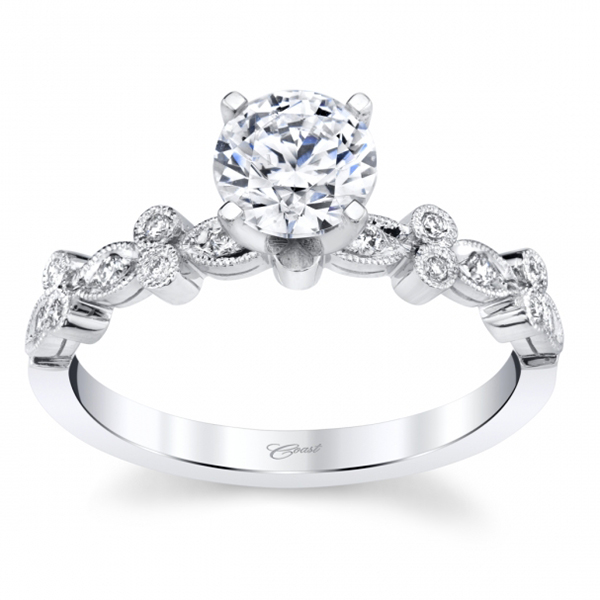 Engagement Ring Setting by Coast Diamond