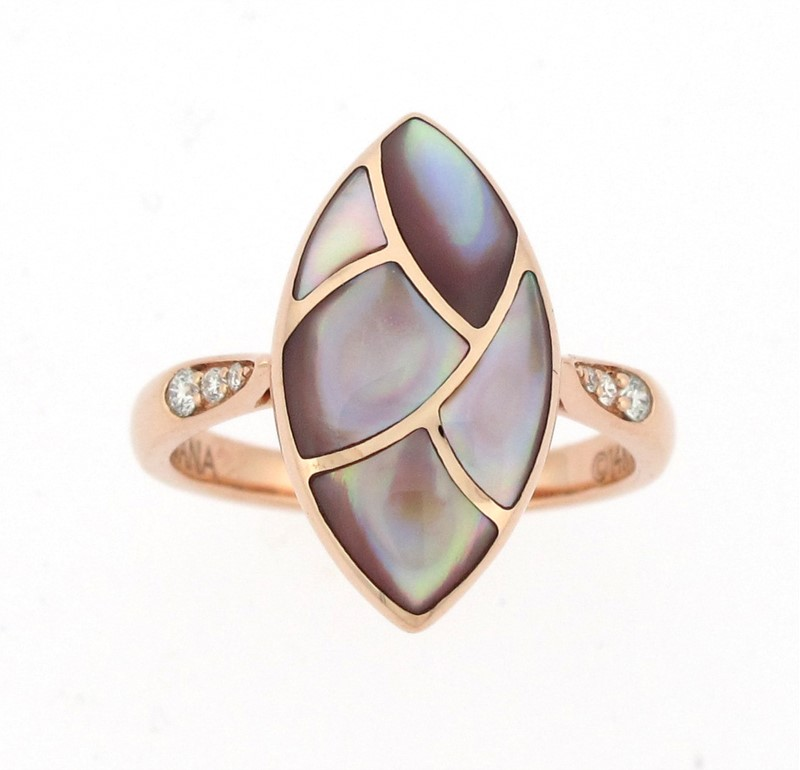 Color and  Diamond Ring by Kabana