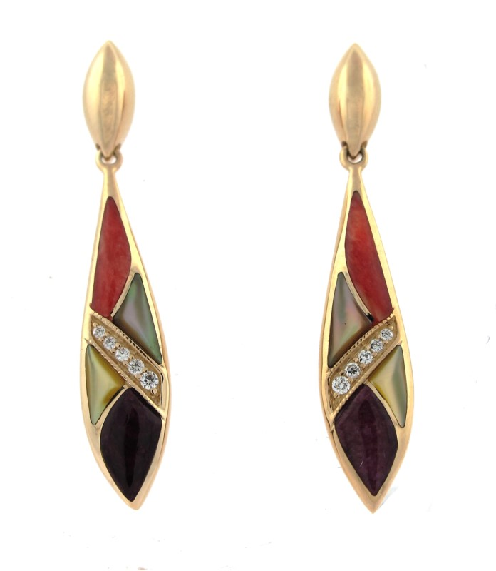 Earrings by Kabana
