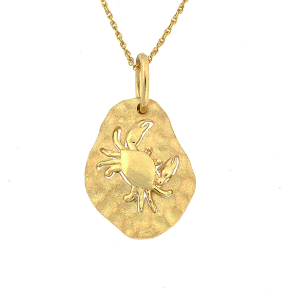Gold Pendant or Charm by Denny Wong